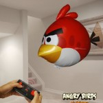 Angry Birds Air Swimmers Turbo – RED Flying Remote Control Balloon Toy