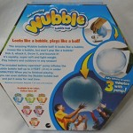 The Amazing WUBBLE BUBBLE Ball ~ BLUE ~ Looks like a bubble plays like a ball