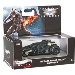 Hot Wheels Elite One The Dark Knight Trilogy Batmobile (1:50 Scale)